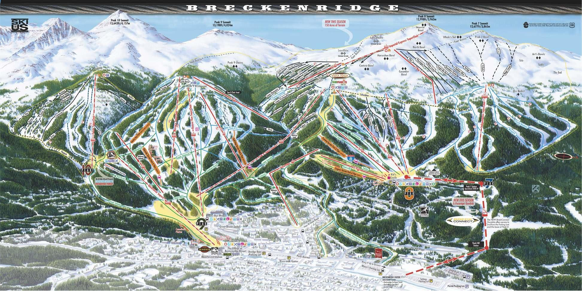 breckenridge colorado lodging, rentals - breckenridge ski resort